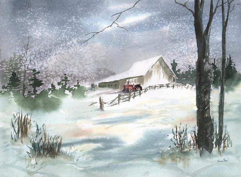Tous les paysages en peinture. - Page 14 Winter22
