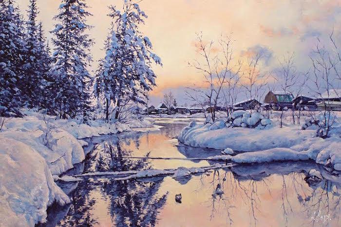L'eau paisible des ruisseaux et petites rivières  - Page 20 Winter23
