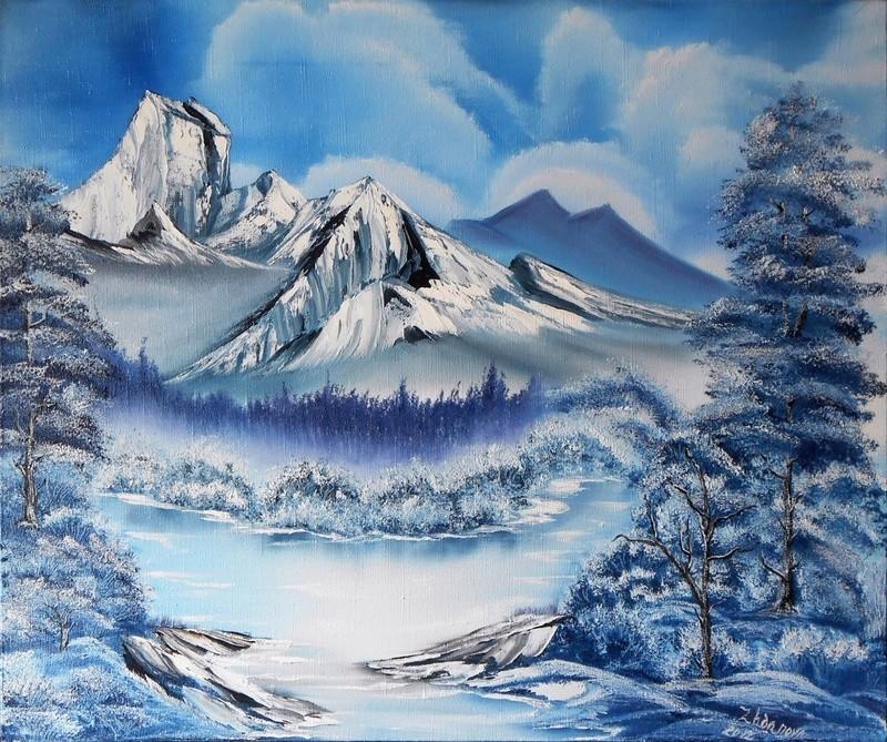 Tous les paysages en peinture. - Page 14 Winter24
