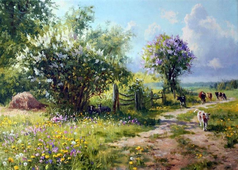 Tous les paysages en peinture. - Page 16 Xudozh11