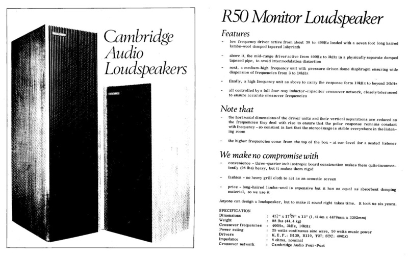 Altavoces de la Escuela Inglésa BBC - Página 2 Advert10