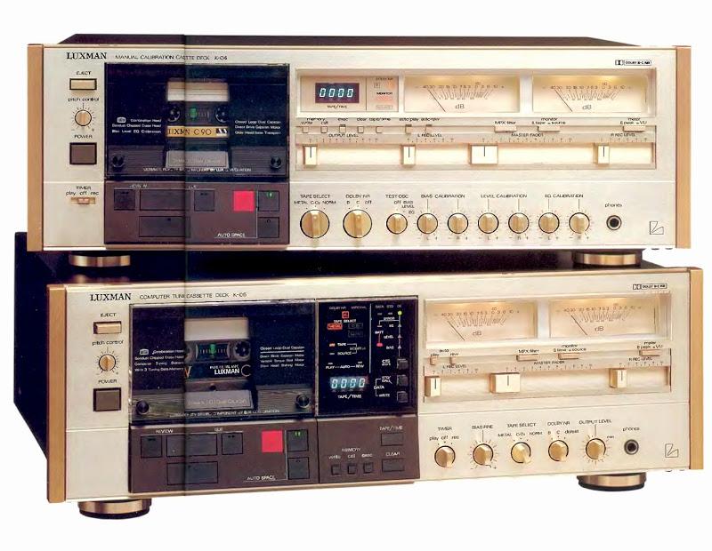 ¿Qué pletinas de cassette preferís, las de carga vertical o las de carga horizontal y por qué? Luxman24