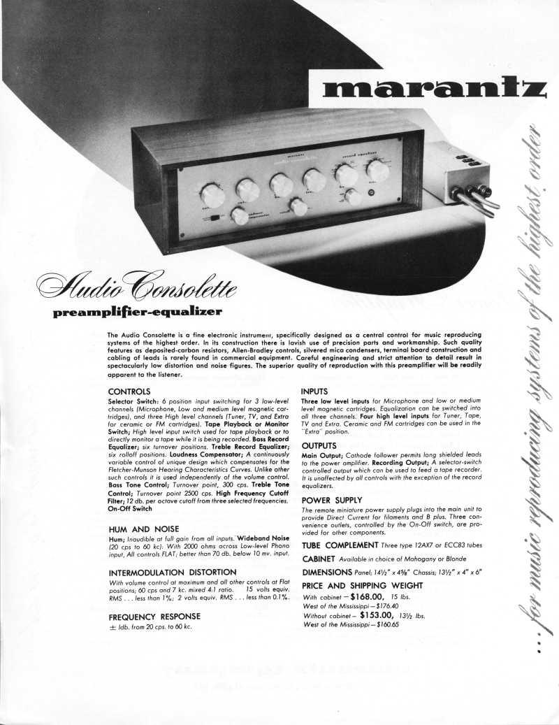 USA. VINTAGE (50,s-80,s) - Página 4 Model110