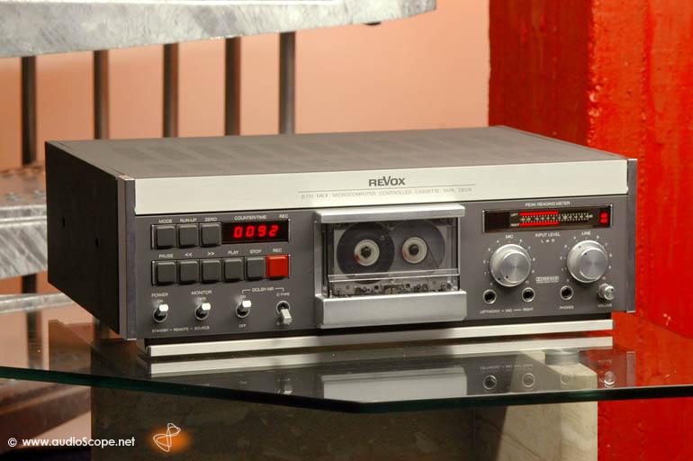 ¿Qué pletinas de cassette preferís, las de carga vertical o las de carga horizontal y por qué? Revoxb10