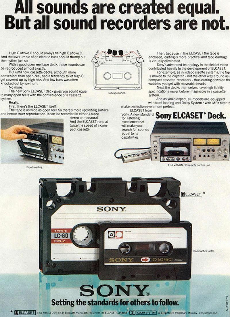 ¿Qué pletinas de cassette preferís, las de carga vertical o las de carga horizontal y por qué? Sony-e10