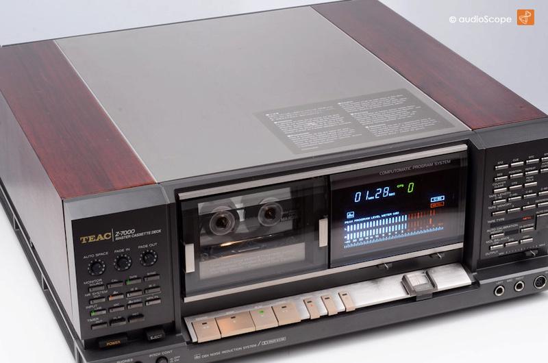 ¿Qué pletinas de cassette preferís, las de carga vertical o las de carga horizontal y por qué? Teac_z10