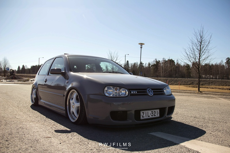 golffari: Bagged Golf mkiv gti -99, Nardo Grey Img_1810