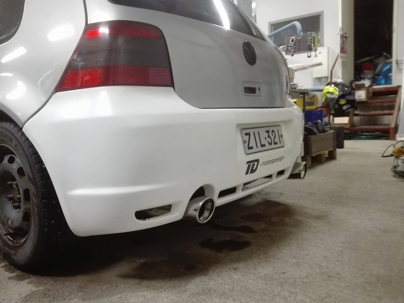 golffari: Bagged Golf mkiv gti -99, Nardo Grey Img_2025
