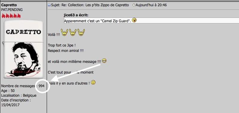 Le ZIPPO's Bar - Page 40 Mille10
