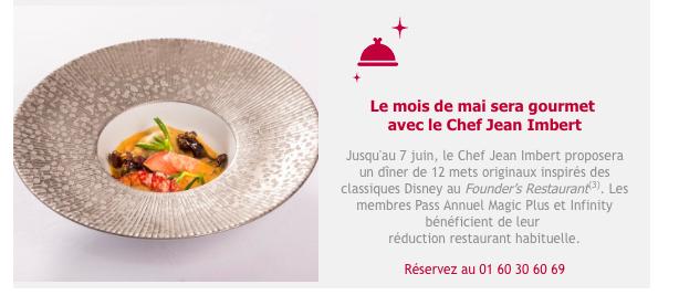 [Disneyland Hotel] Menu Petit Jean au Founder's Restaurant - par Jean Imbert - Page 3 Captur10
