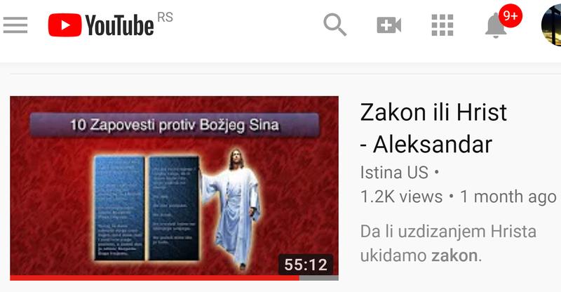 (NE)ZAVISNE ADVENTISTIČKE SLUŽBE/GRUPE  Zakon_10