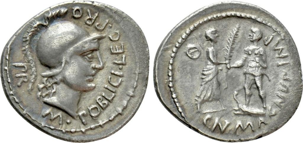 Denario Cneo Pompeyo. CN MAGNUS IMP. Corduba? 16832610