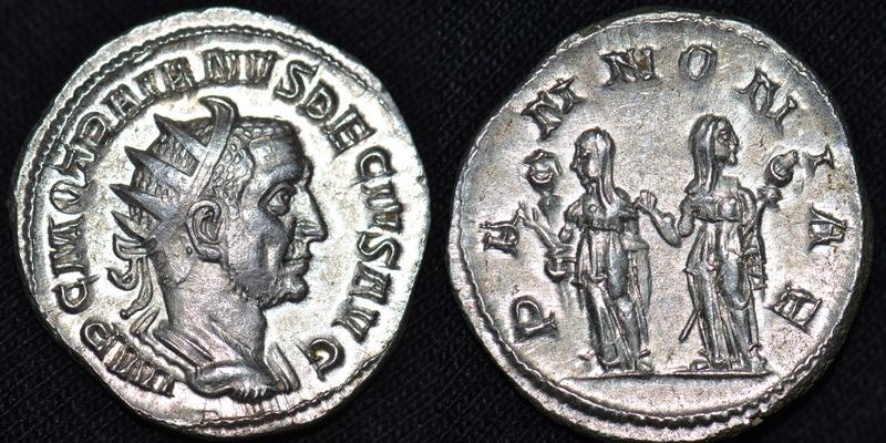 Antoniniano de Trajano Decio. PANNONIAE. Las dos Pannonia. Roma. 78_tra10
