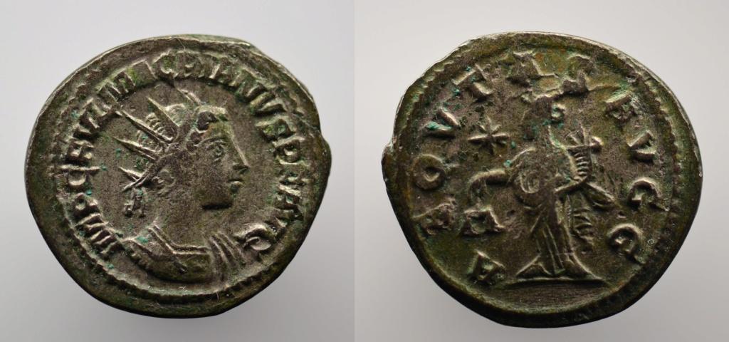 Antoniniano de Macrianus. AEQVITAS AVGG. Aequitas estante a izq. Samosata - Antioquia 91_mac10