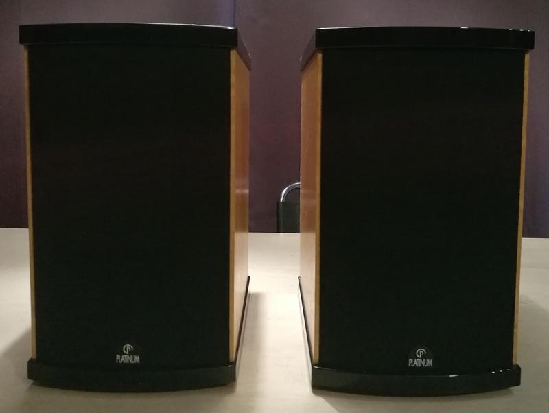 Platinum Solo Speakers with original Platinum floor stand Img_2015