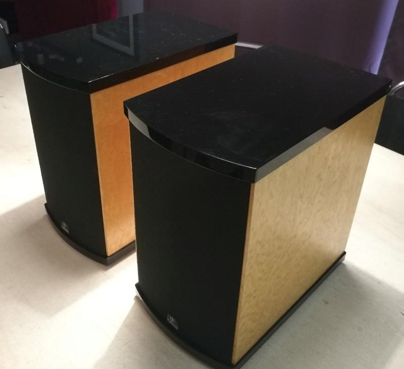 Platinum Solo Speakers with original Platinum floor stand Img_2017