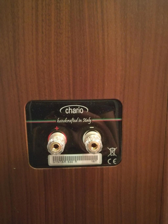 Chario Syntar 530R Speakers (Walnut Finishing) with original box  Img_2024