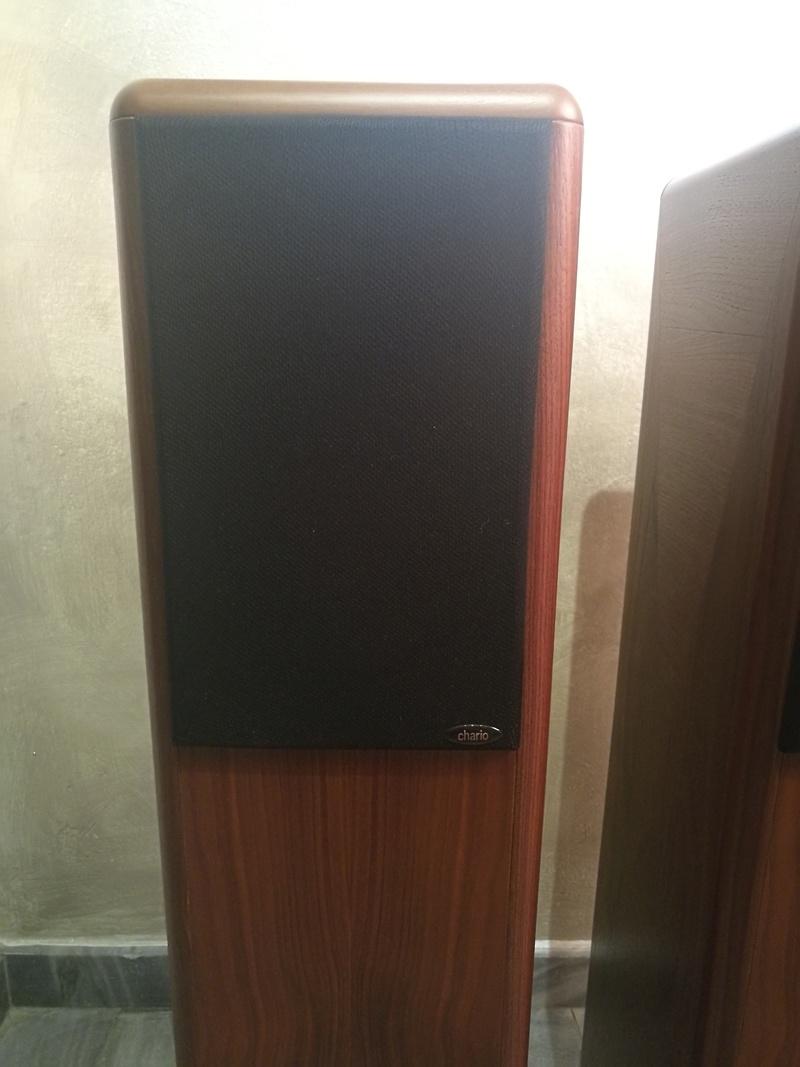 Chario Syntar 530R Speakers (Walnut Finishing) with original box  Img_2025