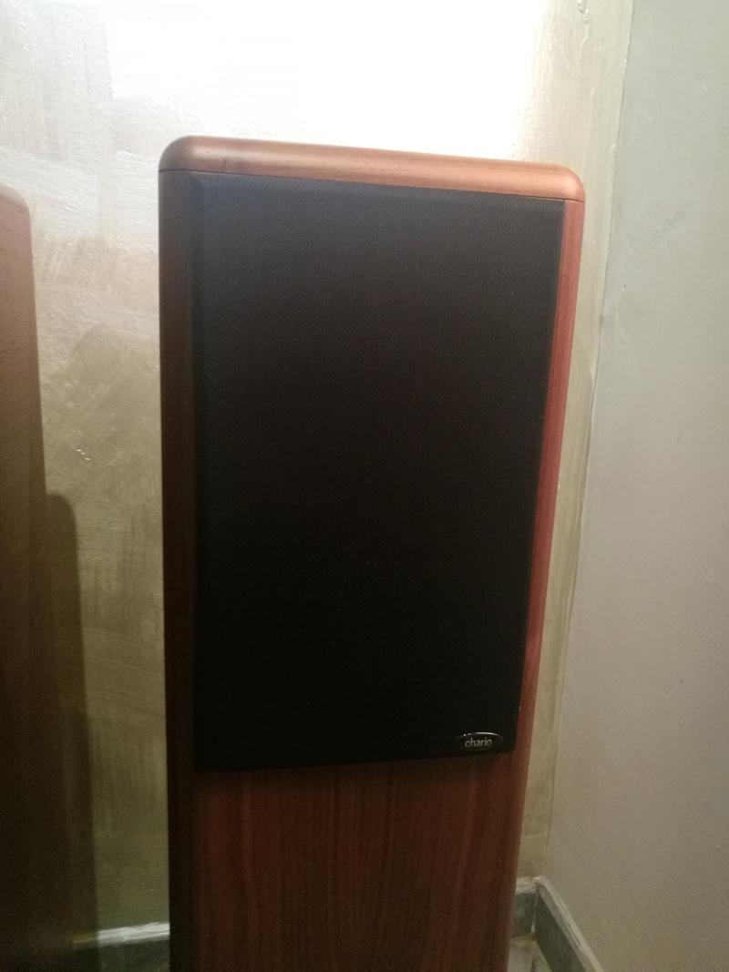 Chario Syntar 530R Speakers (Walnut Finishing) with original box  Img_2027