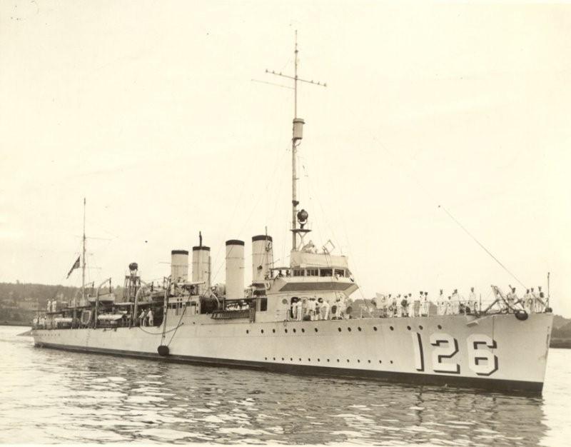 USS Badger - DD 126 1/700 FLYHAWK   Dd_12610