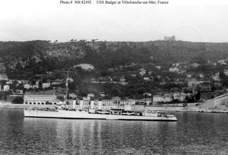 USS Badger - DD 126 1/700 FLYHAWK   Dd_12611