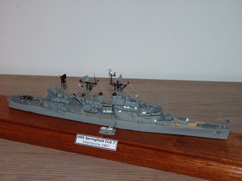 USS Springfield - CLG 7 1/700 Niko Model   P1080520