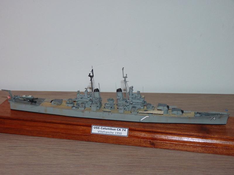 USS Columbus - CA 74 1/700 Trumpeter   P1080522