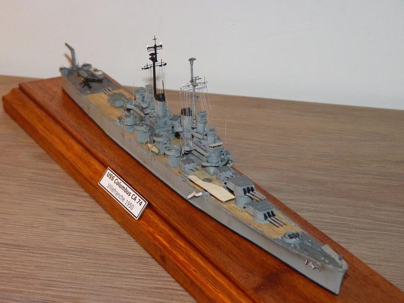 USS Columbus - CA 74 1/700 Trumpeter   P1080525