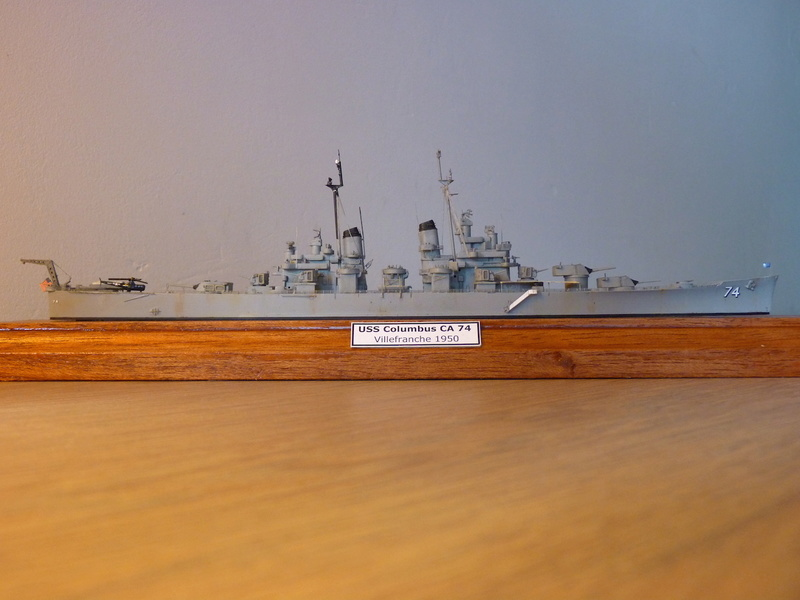 USS Columbus - CA 74 1/700 Trumpeter   P1080526
