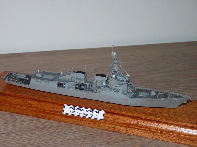 USS Nitze - DDG 94 1/700 Hobby Boss   P1080614