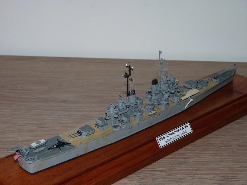 USS Columbus - CA 74 1/700 Trumpeter   P1080625