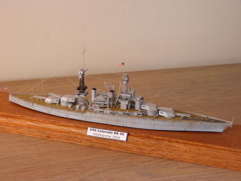 USS Colorado - BB 45  1/700 Trumpeter P1090159