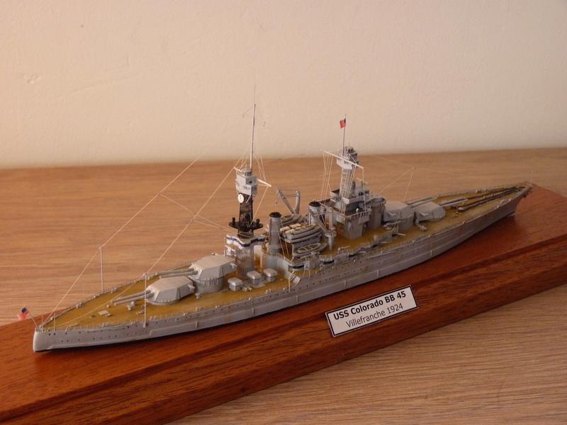 USS Colorado - BB 45  1/700 Trumpeter P1090160