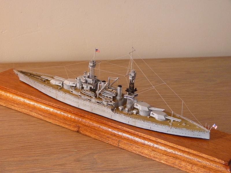 USS Colorado - BB 45  1/700 Trumpeter P1090161