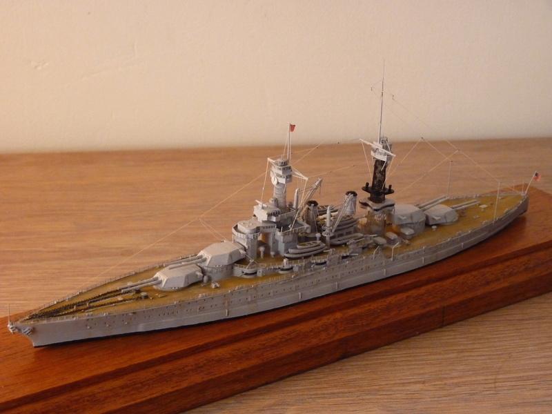 USS Colorado - BB 45  1/700 Trumpeter P1090162