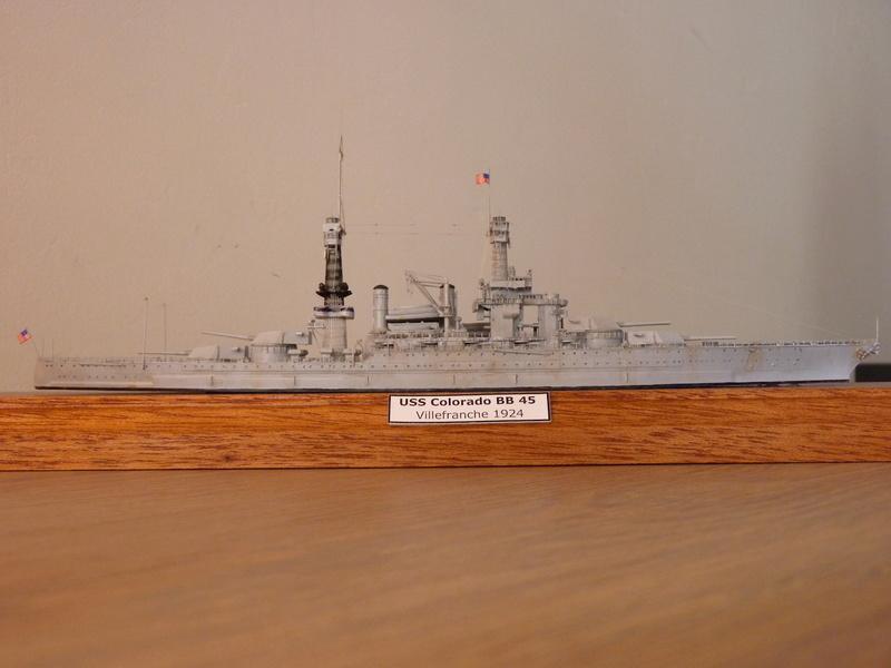 USS Colorado - BB 45  1/700 Trumpeter P1090164