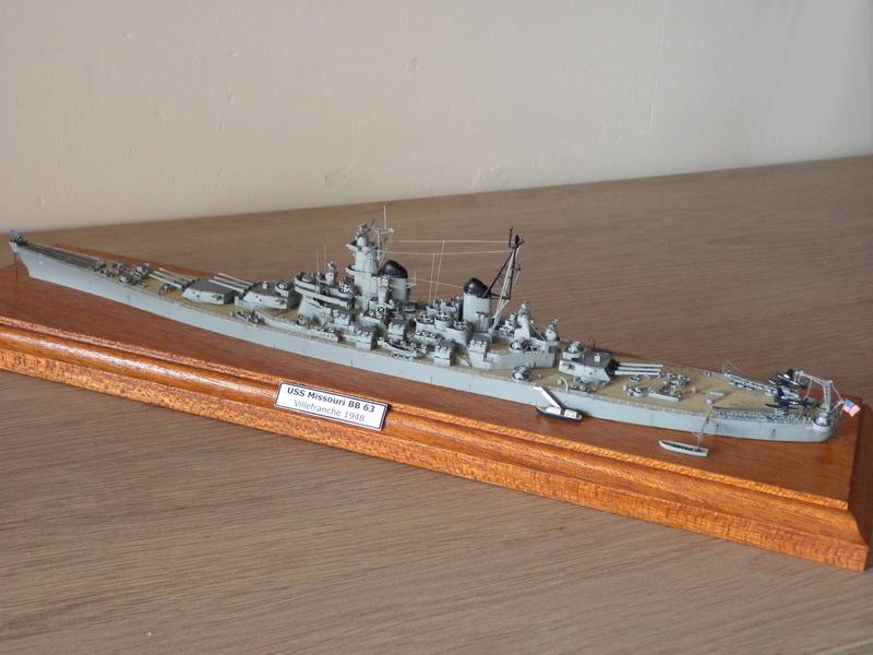 USS Missouri - BB 63 1/700 Tamiya   P1100857