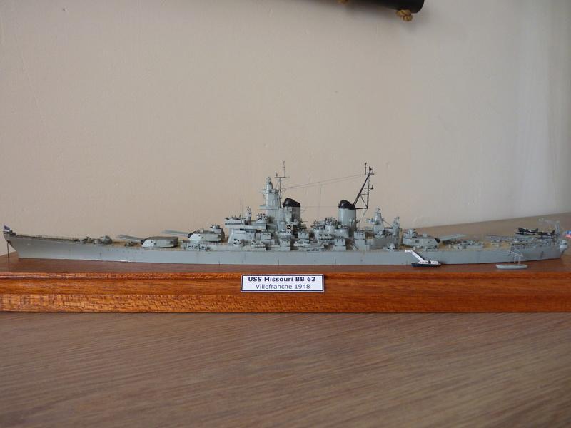 USS Missouri - BB 63 1/700 Tamiya   P1100859