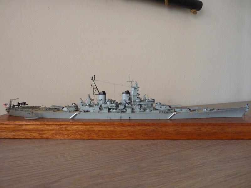 USS Missouri - BB 63 1/700 Tamiya   P1100860