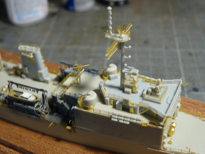 USS Newport - LST 1179 1/700 Orange Hobby   P1100914