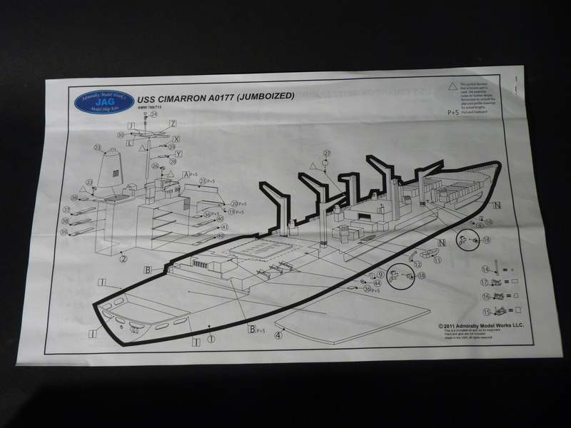 USS Monongahela - AO 178 1/700 JAG   P1100921