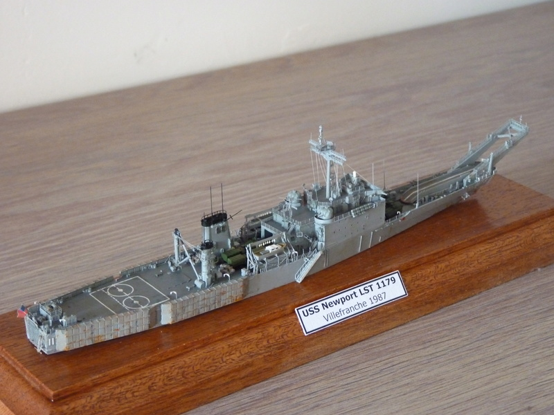 USS Newport - LST 1179 1/700 Orange Hobby P1100931