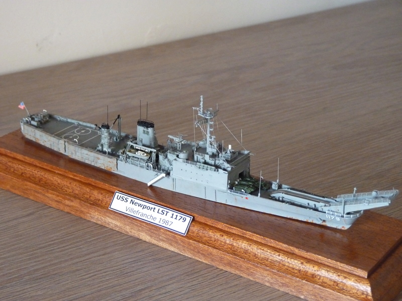 USS Newport - LST 1179 1/700 Orange Hobby P1100932