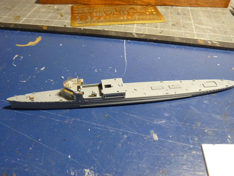 USS Badger - DD 126 1/700 FLYHAWK   P1100965