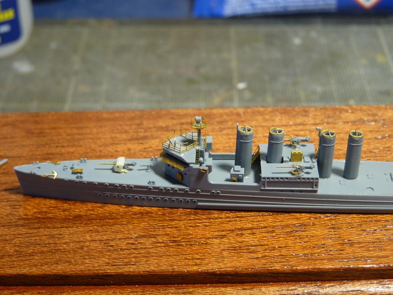 USS Badger - DD 126 1/700 FLYHAWK   P1100969