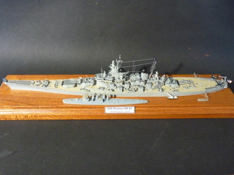 USS Badger - DD 126 1/700 FLYHAWK   P1100970