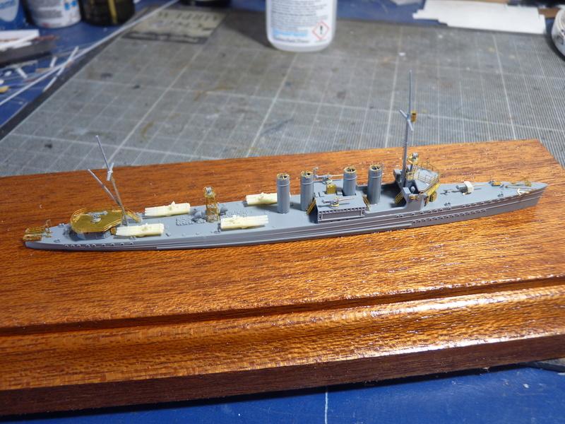 USS Badger - DD 126 1/700 FLYHAWK   P1110010