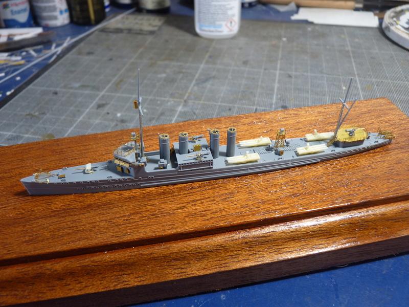 USS Badger - DD 126 1/700 FLYHAWK   P1110011