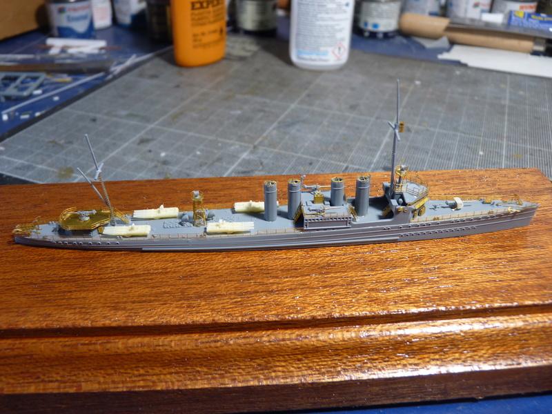 USS Badger - DD 126 1/700 FLYHAWK   P1110012