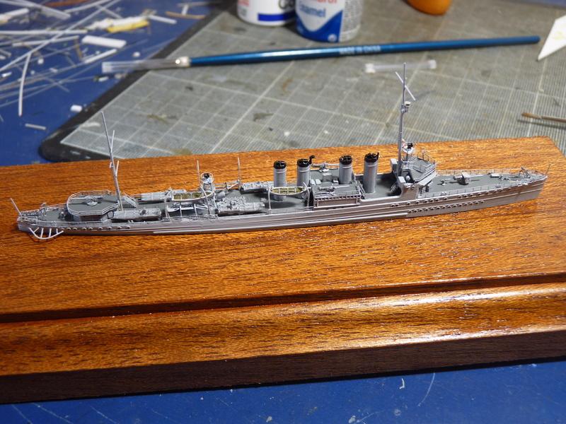 USS Badger - DD 126 1/700 FLYHAWK   P1110014